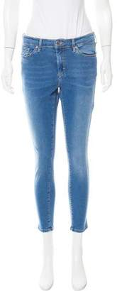 Topshop Mid-Rise Skinny Jeans