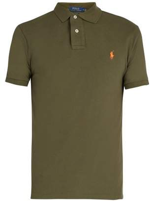 Polo Ralph Lauren Slim Fit Cotton Polo Shirt - Mens - Khaki