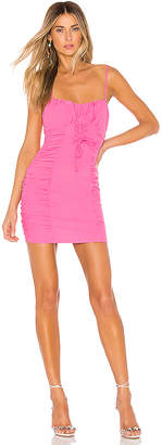 superdown Crystal Ruched Cami Dress