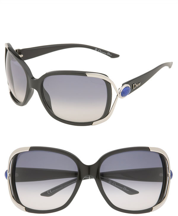 Dior 'Copacabana' Open Temple Sunglasses