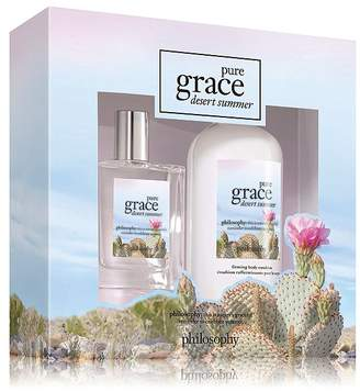 Philosophy Pure Grace Desert Summer Two Piece Gift Set