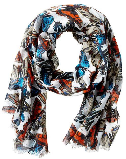 Banana Republic Butterfly Print Scarf