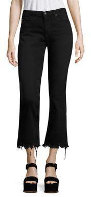 AG Jodi High Rise Frayed Hem Jeans $178 thestylecure.com