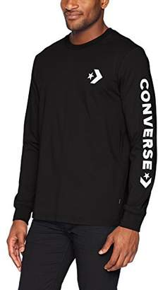 Converse Men's Star Chevron Wordmark Long Sleeve T-Shirt