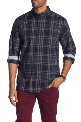 Ben Sherman End On End Plaid Classic Fit Shirt
