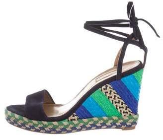 Aquazzura Baru Wedge Sandals