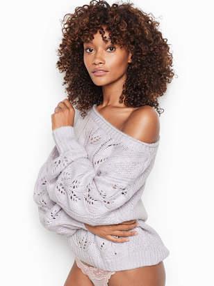 Victoria's Secret Victorias Secret Pointelle Sweater