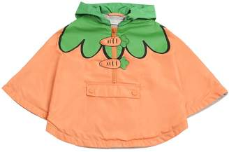 Stella McCartney Carrots Nylon & Cotton Jersey Rain Coat