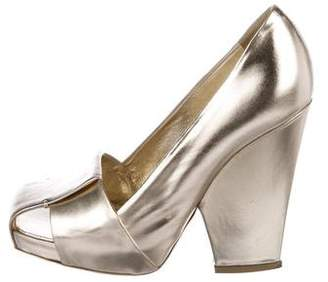 Saint Laurent Dada Metallic Pumps