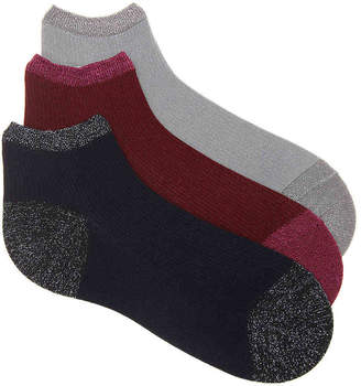 Mix No. 6 Lurex Ankle Socks - 3 Pack - Women's