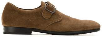 Tod's buckled suede Oxford shoes