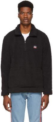 Levi's Levis Black Oversized Sherpa Jacket