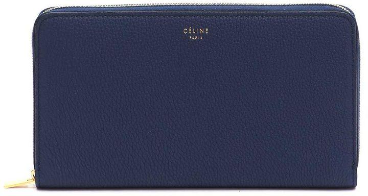 CelineCeline Large Zipped 'multifunction' Wallet