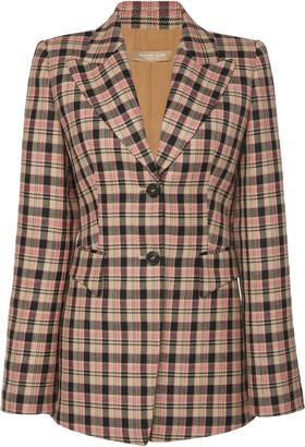 Michael Kors Two Button Virgin Wool Blazer
