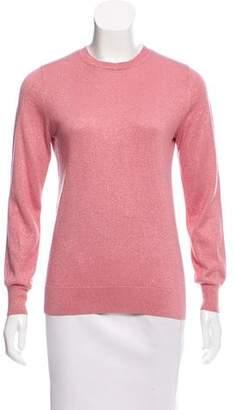 Dries Van Noten Long Sleeve Crew Neck Sweater