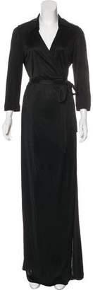 Diane von Furstenberg Abigail Collared Wrap Dress