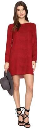 BB Dakota Melville Printed Shift Dress Women's Dress