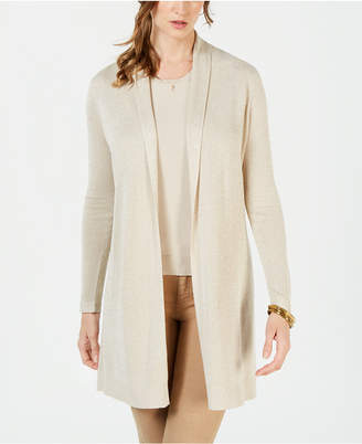 Charter Club Metallic Cardigan