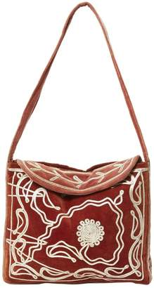 Non Signé / Unsigned Vintage Non Signe / Unsigned Red Velvet Handbag