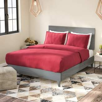 Union Rustic Alayna Industrial Platform Bed