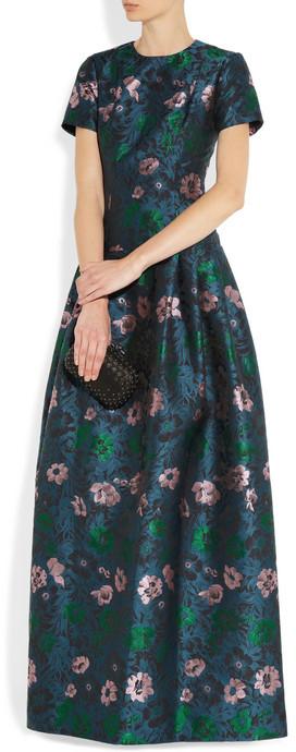 Erdem Anusha jacquard gown
