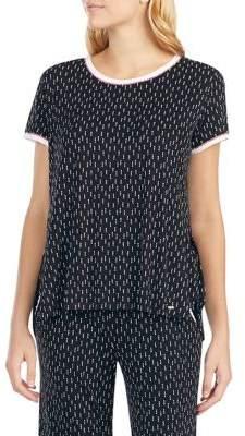 Kensie Printed Pajama Top