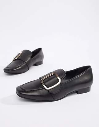 Park Lane Leather Flat Shoes