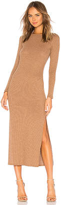 Rachel Pally Metallic Rib Joan Sweater Dress