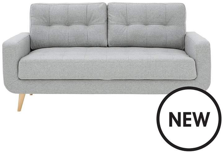 Skandi 3 Seater Fabric Sofa