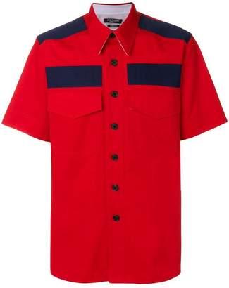 Calvin Klein colour block shirt