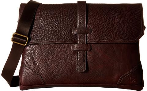 Allen EdmondsAllen-Edmonds Brown Grain Messenger Bag