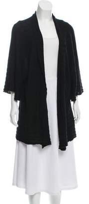 eskandar Short Sleeve Knit Cardigan