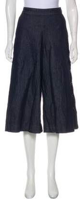 Vanessa Seward High-Rise Wide-Leg Jeans blue High-Rise Wide-Leg Jeans