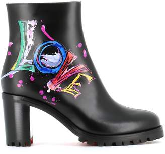 Christian Louboutin Ankle Boots love Me Boot