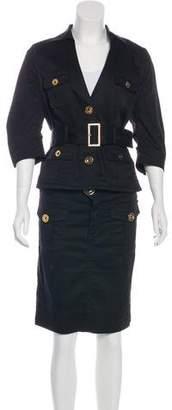 LaROK Knee-Length Skirt Suit