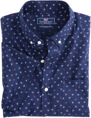 Vineyard Vines Short-Sleeve Dock Street Slim Murray Shirt