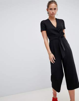 Miss Selfridge jumpsuit with tie waist