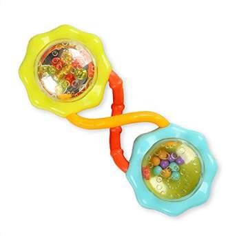 Kids II Bright Starts ブライトスターツ ガラガラ バーベル・ラトル (8188)