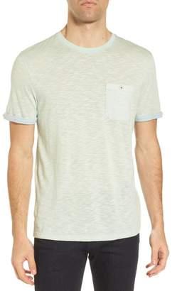 Ted Baker Taxi Slub Cotton Pocket T-Shirt