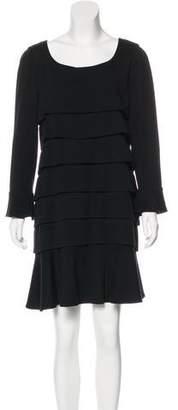 Chanel Tiered Wool Dress