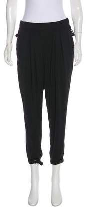 Helmut Lang High-Rise Cropped Pants