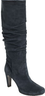 Roberto del Carlo Scruch Knee Boot- Dark Teal