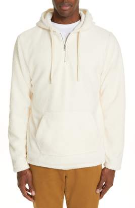 Ovadia & Sons Coze Fleece Quarter Zip Hoodie