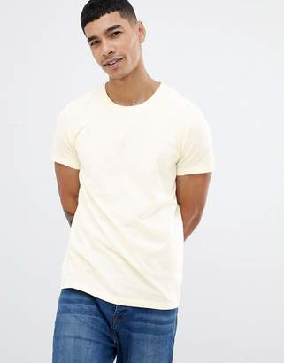 Jack Wills Sandleford t-shirt in pale yellow