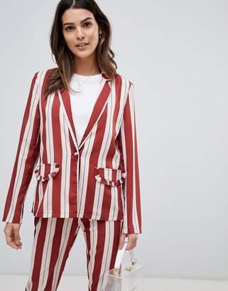 Vila Frill Pocket Stripe Blazer