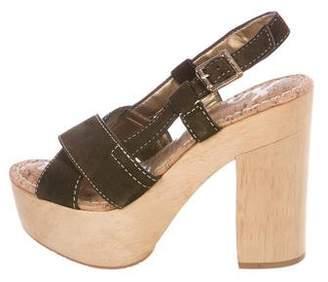 Sam Edelman Suede Platform Sandals