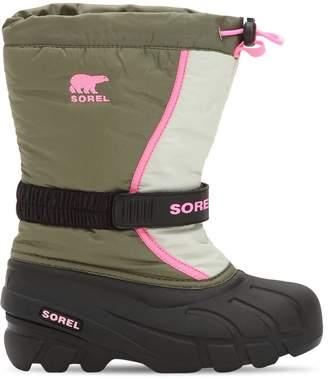 Sorel Water & Wind Resistant Nylon Snow Boots