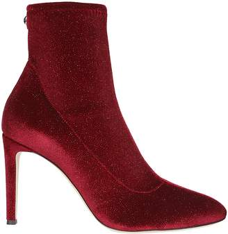 Giuseppe Zanotti Design Celeste Glittery Sock Boots
