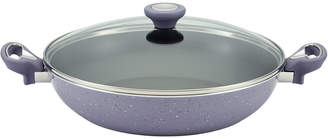 Farberware New Traditions Speckled Aluminum Nonstick 12.5In Covered Skillet