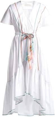 Peter Pilotto Cord-belt cotton dress